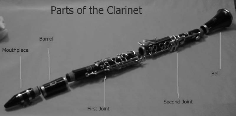 Parts of the Clarinet